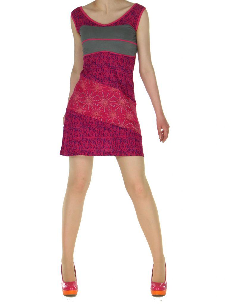 Robe courte sans manches originale sophie rose 261335
