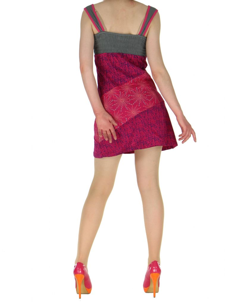 Robe courte sans manches originale sophie rose 261336