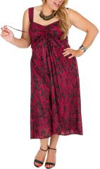 Robe courte sexy et glamour femme grande taille Nyma