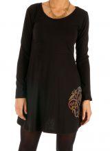 Robe courte très stylée et imprimée ethnique Bukavu 313946