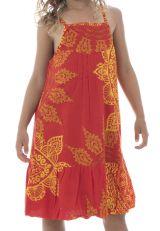 Robe d'été à bretelles pour enfant avec imprimé Laly 294414
