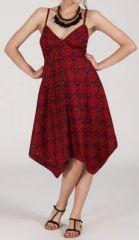 Robe d'été Asymétrique et Originale ASSIA Bordeaux RM343 272997