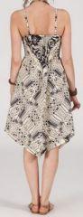 Robe d'été Asymétrique et Originale ASSIA Imprimée RM348 272987