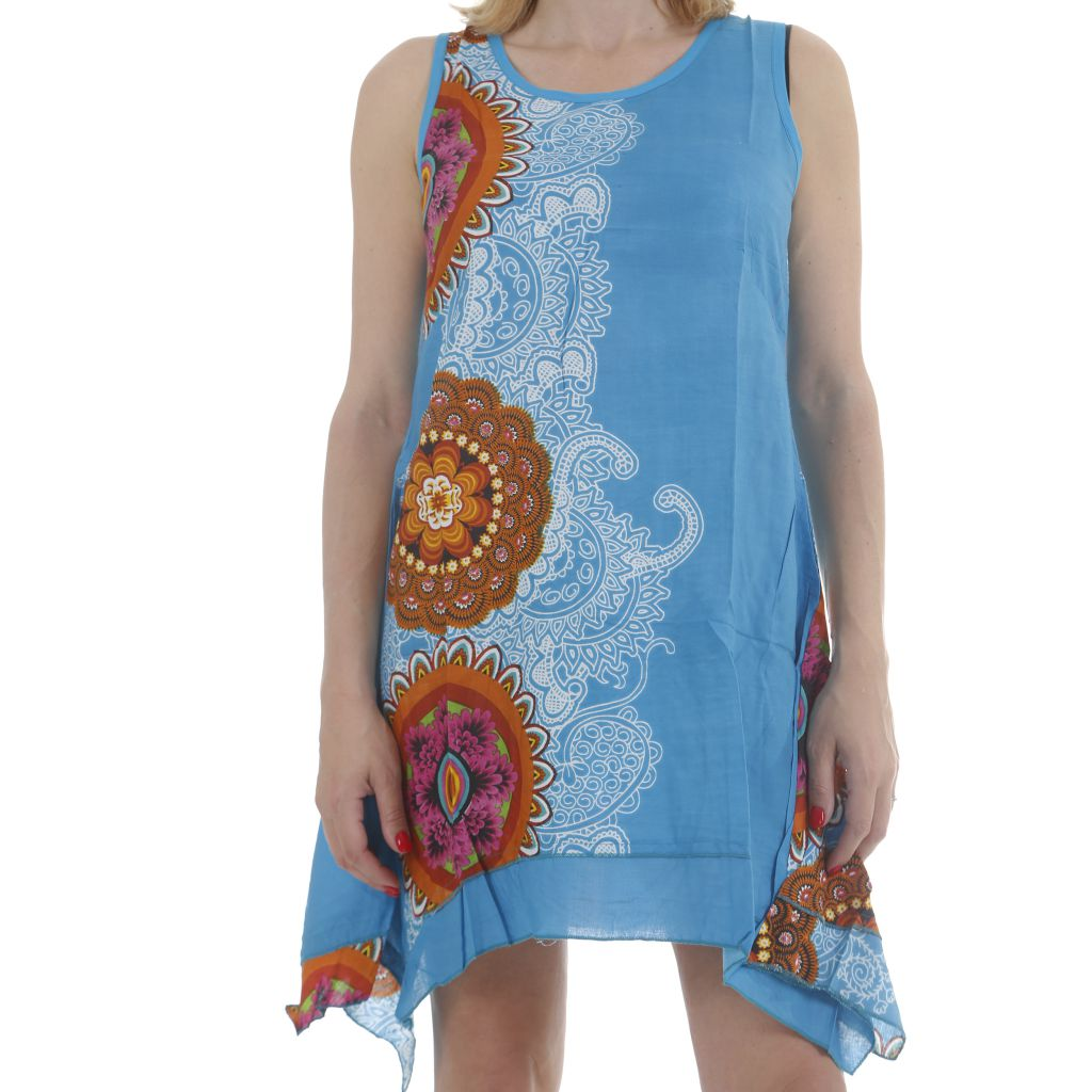 Robe d'été asymétrique idéale plage ou vacances Weny 311736