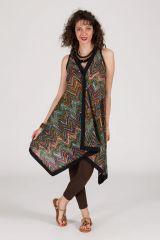 robe d'été asymétrique originale ethnique kyla 288232
