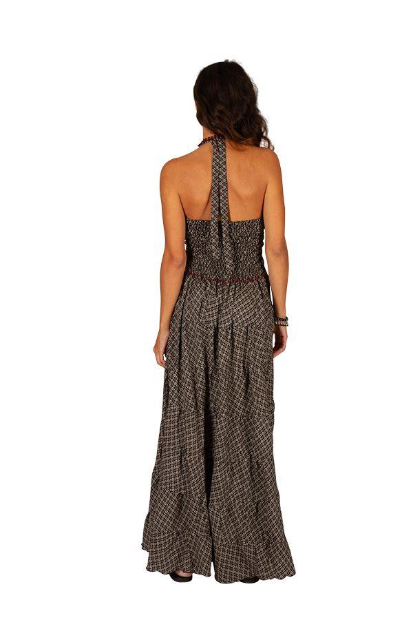 Robe d'été au dos nu pour femme ethnique et gaie Mailly 310315