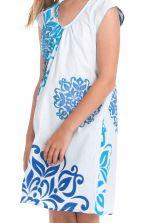 Robe d'été Blanche pour enfant Prissy Originale et Colorée 279890