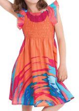 Robe d'été Corail pour Enfant Ethnique et Colorée Nash 279903