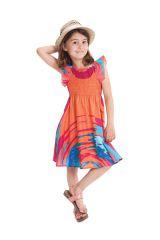 Robe d'été Corail pour Enfant Ethnique et Colorée Nash 279904