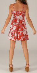 Robe d'été courte à bretelles Ethnique et Féminine Lise 277830