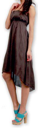 Robe d'été Elegante à bustier Originale et Chic Donna Grise 277024