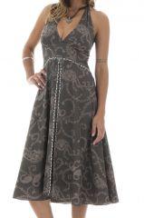 robe d'été élégante avec joli col pigeonnant et imprimés Lenka 292149