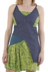 Robe d'été ethnique imprimée et aux couleurs zens Faouda 311866