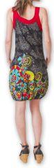 Robe d'été forme boule Ethnique et Originale Lorellia Noire 277131