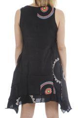 Robe d'été idéale pour détente originale et ethnique Jade 311724