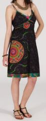 Robe d'été imprimée ethnique mi-longue Julianna 271354