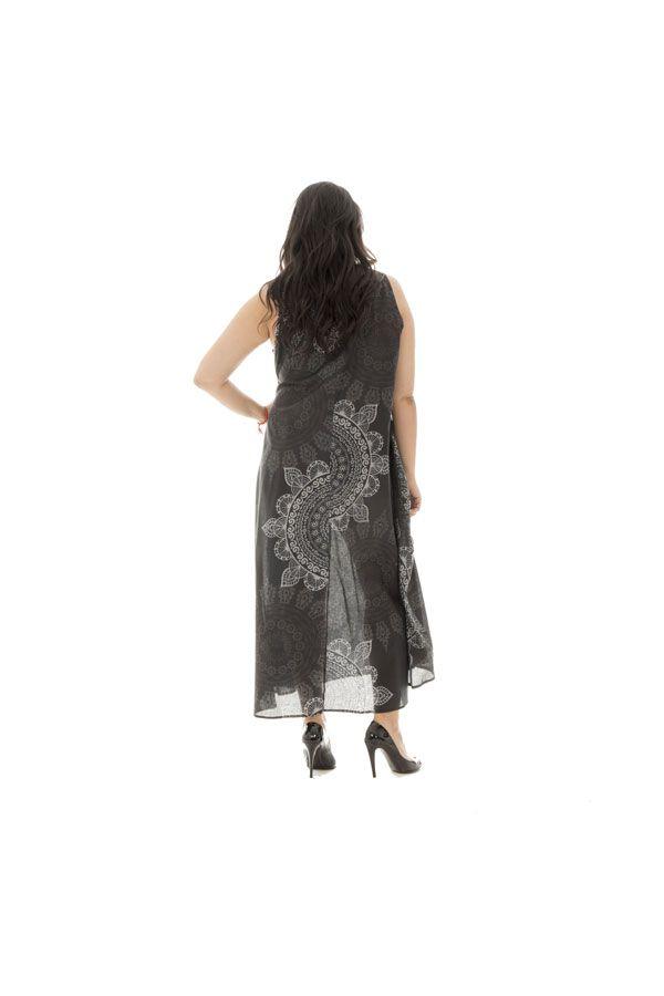Robe d'été légère en voile de coton avec motifs mandalas Autumn 290230