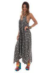 robe d'été longue parfaite avec col plongeant Míriel 313066