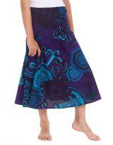 Robe d'été Narcisse 2en1 transformable en Jupe Bleue 280219