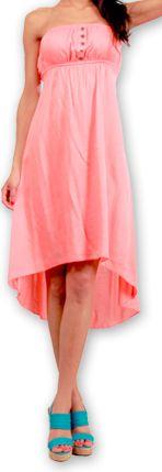 Robe d'été Originale et Chic Elegante à bustier Donna Corail 277019