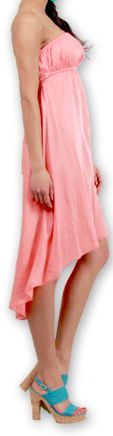 Robe d'été Originale et Chic Elegante à bustier Donna Corail 277020