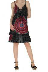 Robe d'été originale thalia noire 260765