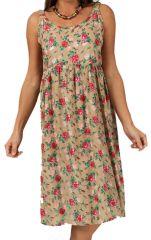 Robe d'été Pas Chère à imprimés fleuris Originale et Stylée Layhil 285907