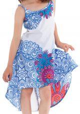 Robe d'été pour enfant Blanche Originale idéale Cérémonie Rika 280582