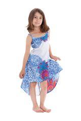 Robe d'été pour enfant Blanche Originale idéale Cérémonie Rika 280583