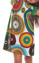 Robe d'été pour Enfant Ethnique et Colorée à Mandalas Nash 279907
