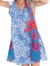 Robe d'été pour enfant Prissy Bleue Originale et Colorée 279894