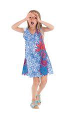 Robe d'été pour enfant Prissy Bleue Originale et Colorée 279895