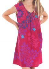 Robe d'été pour enfant Prissy Originale et Colorée Fuchsia 279896