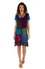 Robe d'été pour femme originale et pas chère Jimma multi 314225