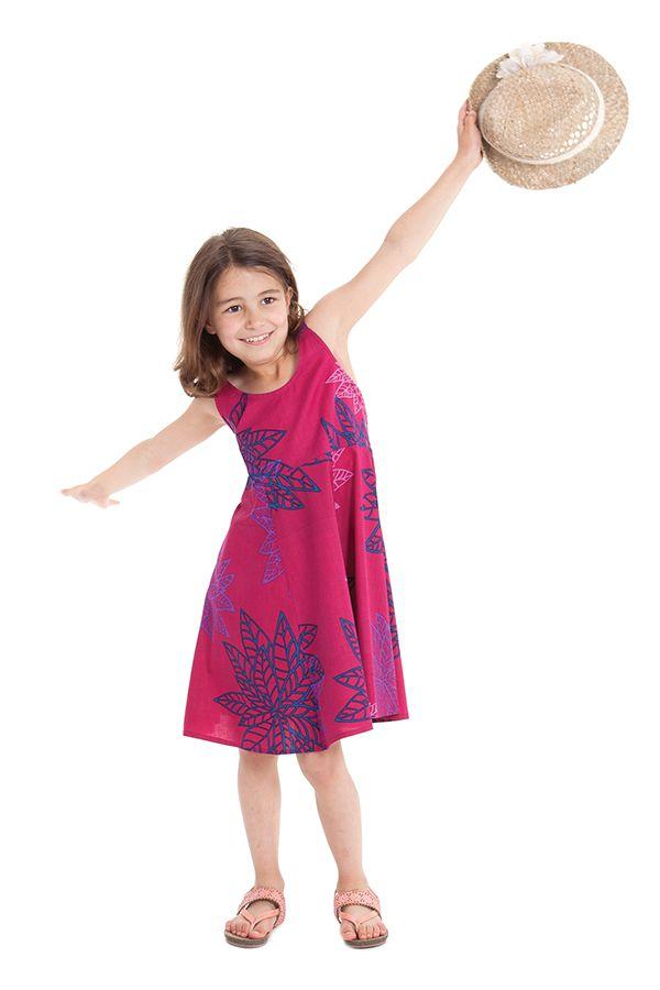 Robe d'été pour Fille Colorée et Pas chère Nala Rose 280137