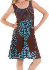 Robe d'été pour Fille Pas chère et colorée Marron Nala 280142