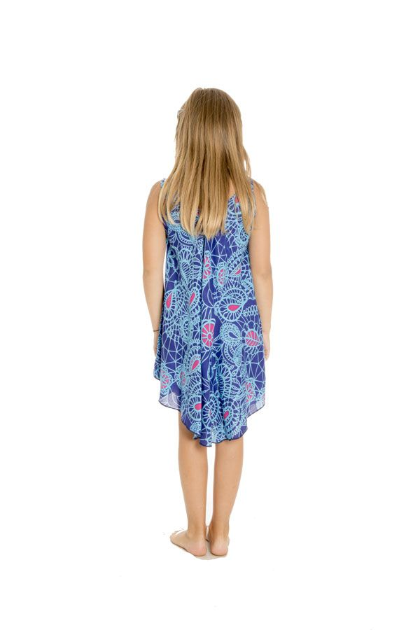 Robe d'été pour fillette Ethnique et Asymétrique Marie-Laurence 295795