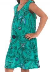 Robe d'été Prissy pour enfant Originale et Colorée Verte 279877