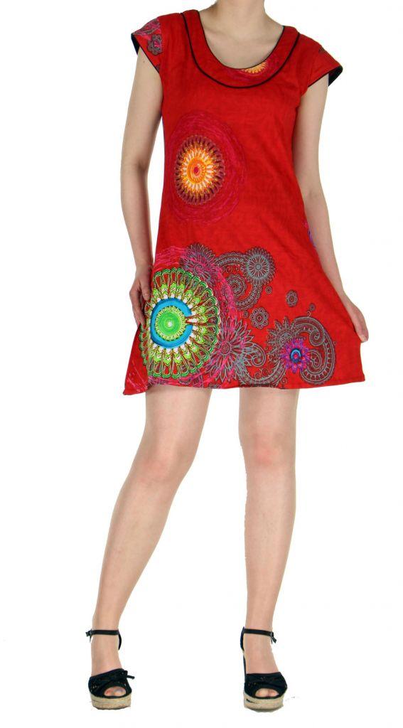Robe d\'été rouge Nathy 269381