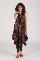 robe d'été sans manche asymétrique col V Irena 288230