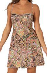 Robe d'été très Féminine et Originale Salomé Pastel 284101