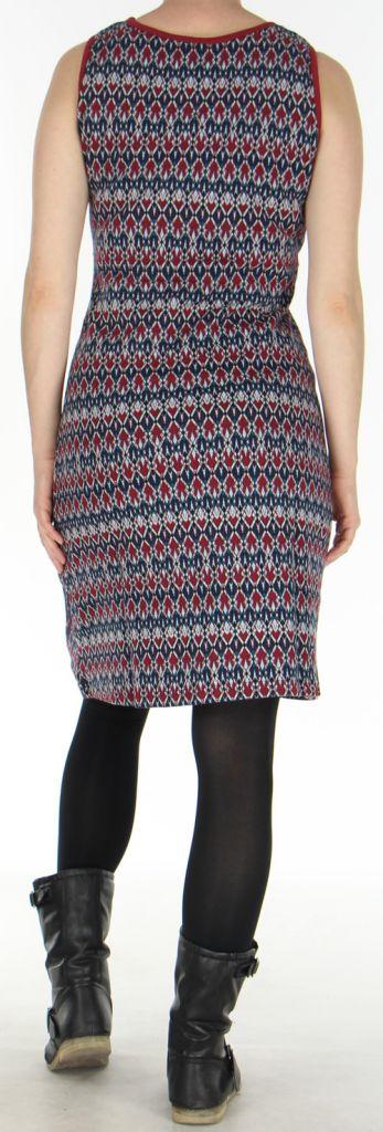 Robe d'hiver à larges bretelles Originale et Colorée Christel 278745