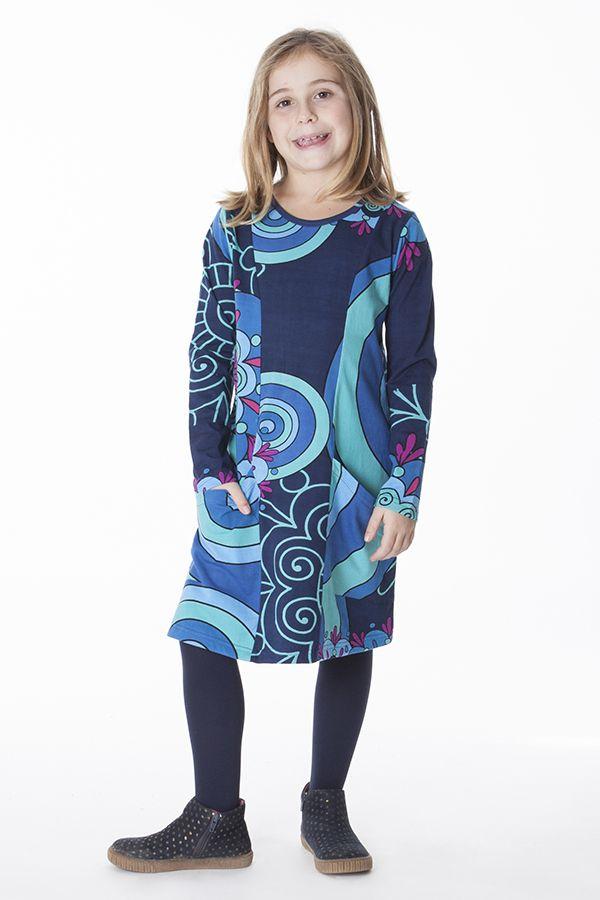 Robe d'hiver colorée et originale pour enfant 287213