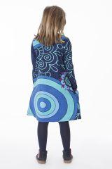 Robe d'hiver colorée et originale pour enfant 287214