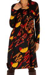 Robe d'hiver ethnique colorée et ultra féminine Kumasi 312724