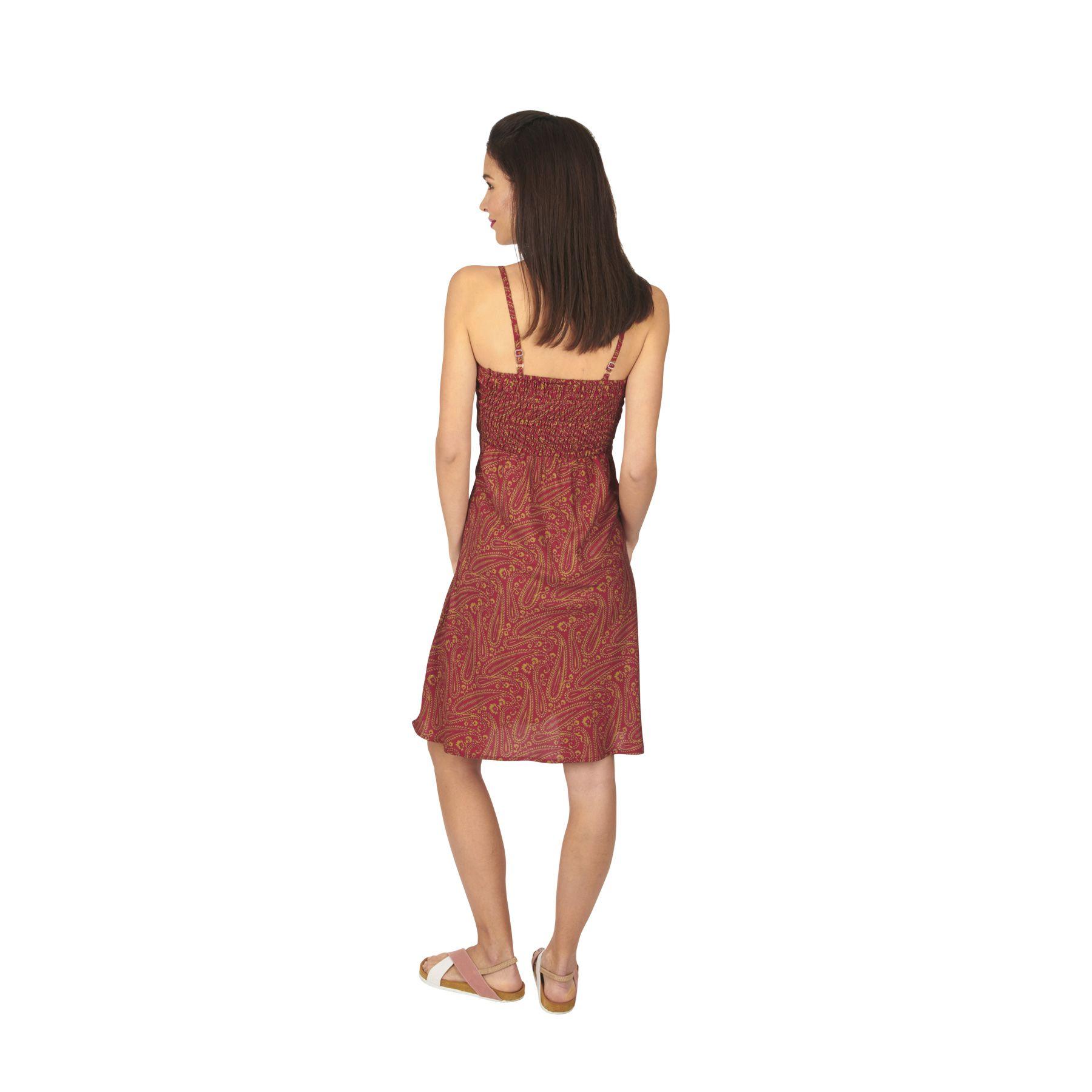Robe de plage à bretelle taille 36 à 42 Michelle