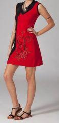 Robe de plage chic rouge Ilanna 269128