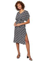 Robe de plage été femme originale imprimé chic Nadia