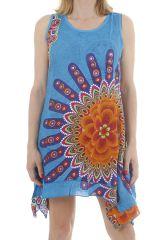 Robe de plage femme ethnique et très colorée Hadidja 311729