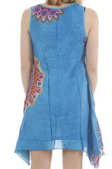 Robe de plage femme ethnique et très colorée Hadidja 311730